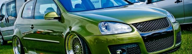 Carbon Fibre MK5 Golf GTi
